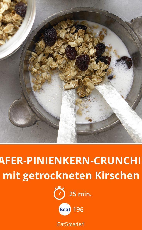 Hafer Pinienkern Crunchies Rezept Gesundes Frühstück