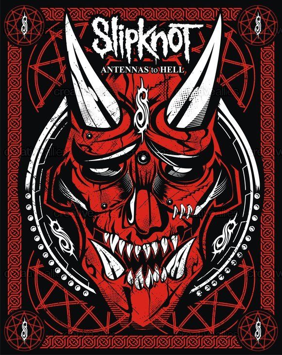 Slipknot Poster by ARACE on green