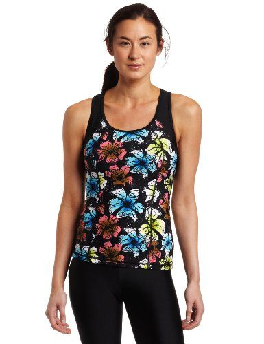 Danskin Women's Triathlon Print Tank « Clothing Impulse