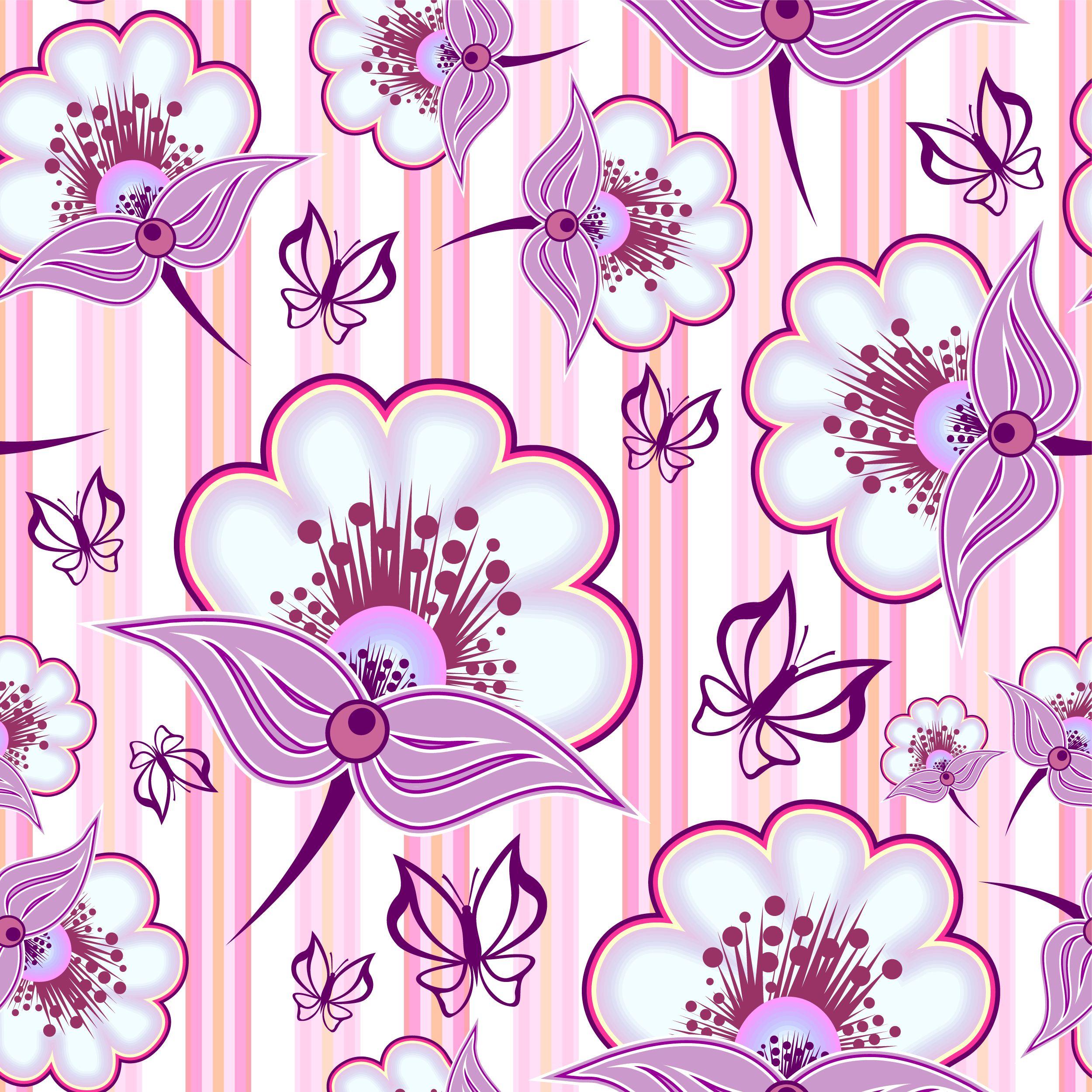 free vector Beautiful purple background pattern vector