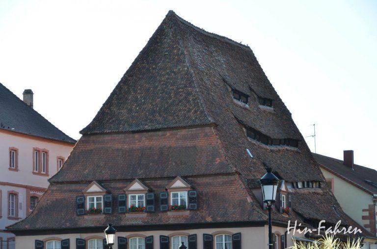 Kurztrip Elsass Grenzstadt Weißenburg mit dem Wohnmobil