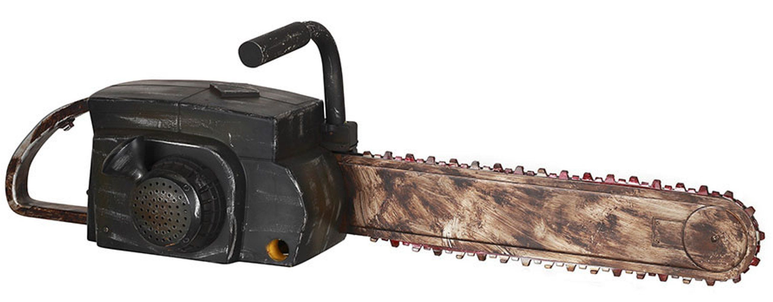 Animated Chainsaw With Rusty Finish Halloween Prop Halloween Props Chainsaw Halloween