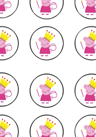 Strange Peppa Pig Birthday Party Printable Files With Images Peppa Pig Funny Birthday Cards Online Overcheapnameinfo