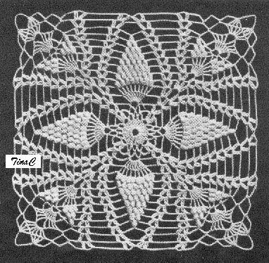 Totally Free Crochet Pattern Blog Patterns Popcorn Pineapple