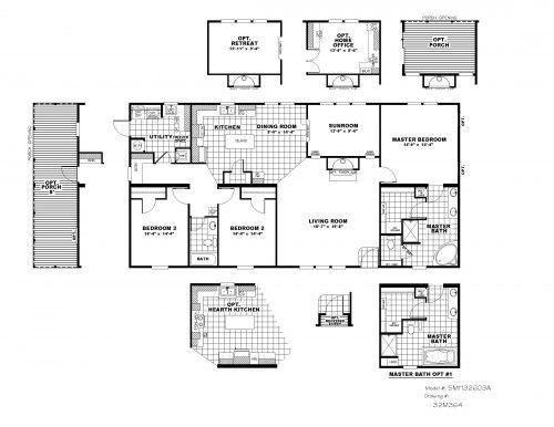 Schult Saratoga Manor Hill Series 99 900 3 Bedroom 2