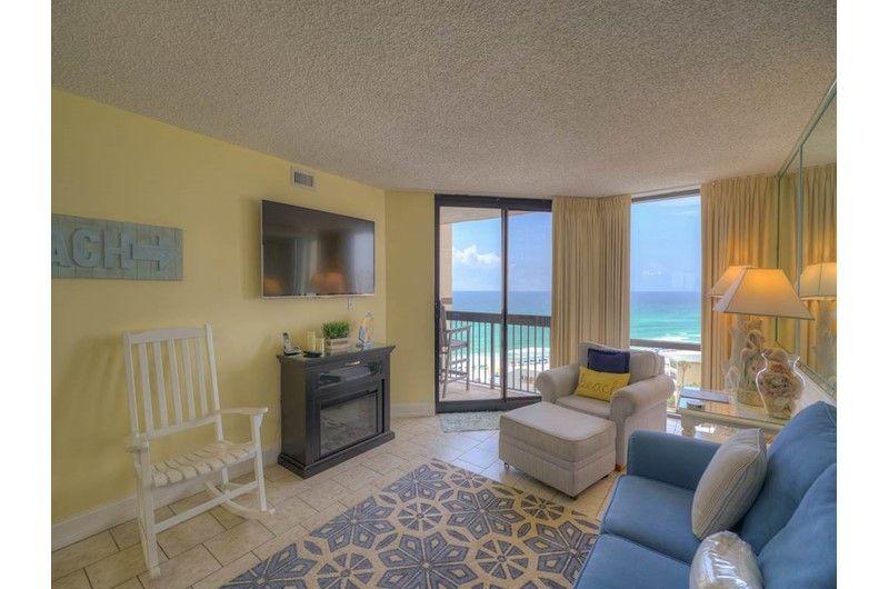 Sundestin Beach Resort 1116 Has One Bedroom One Bath Florida Condo Rentals Florida Condos Beachfront Vacation Rentals