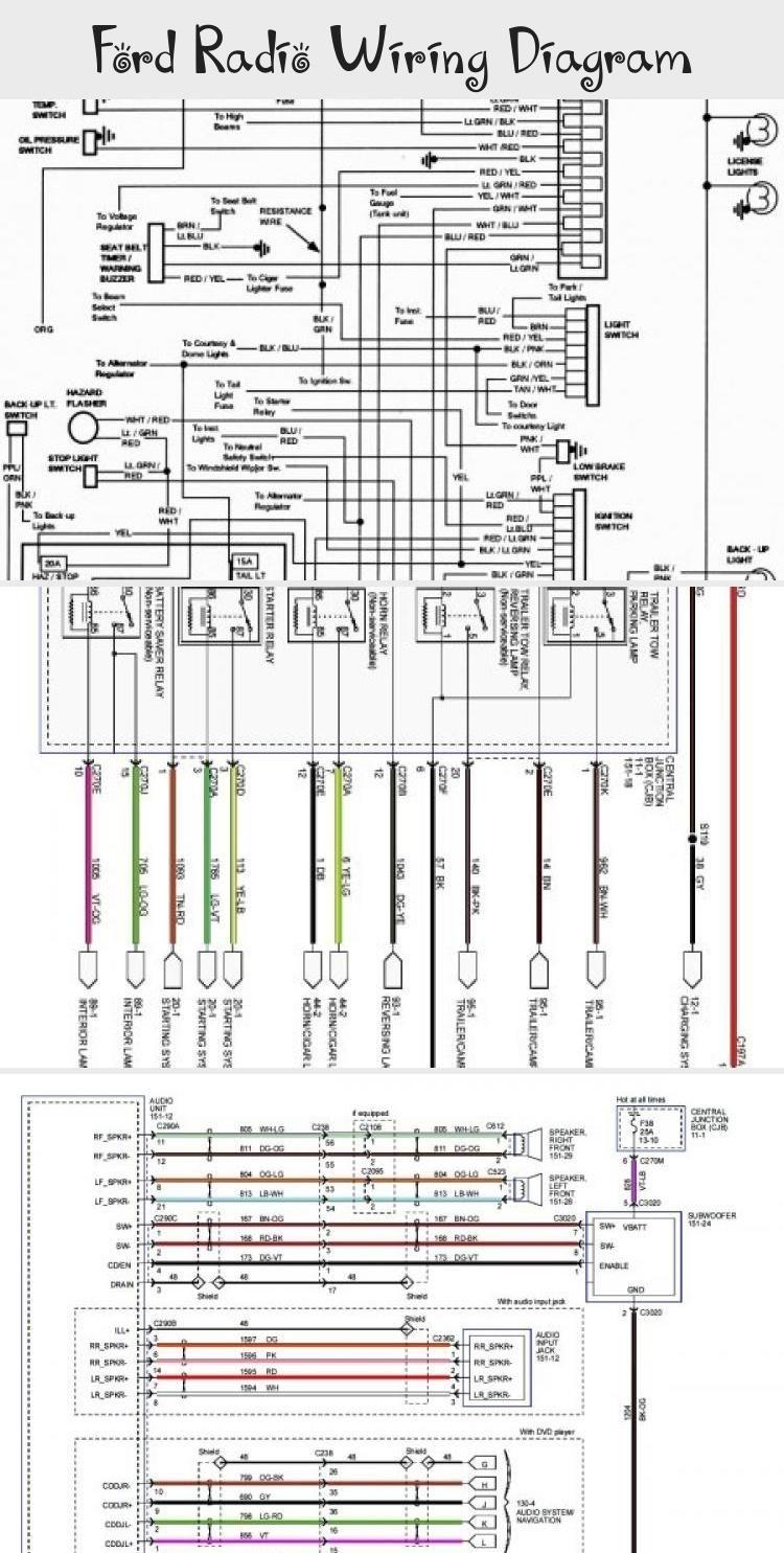 2007 ford ranger radio wiring diagram ford radio wiring diagram in 2020 ford  ford radio wiring diagram in 2020 ford