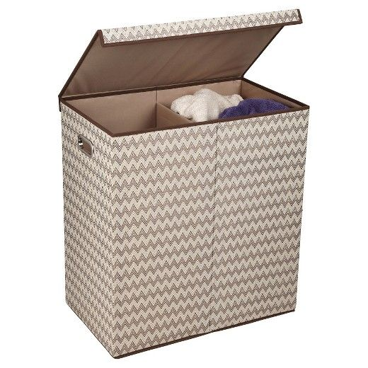 Household Essentials Folding Double Sorter Brown Household