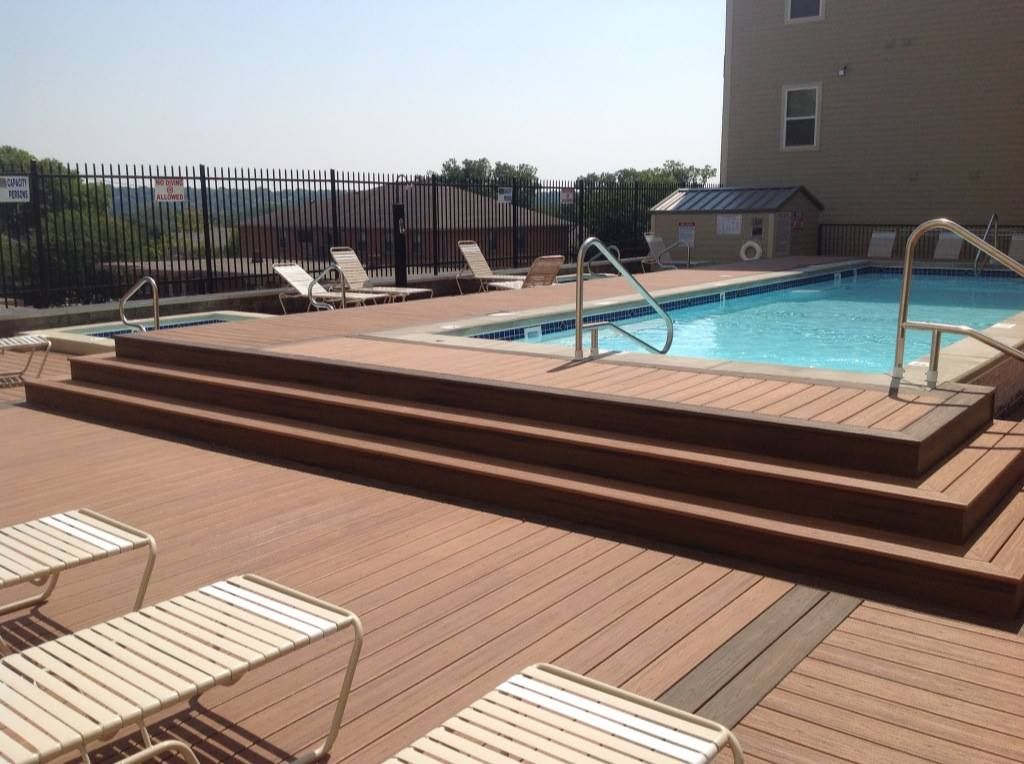 Elevated Pool this beautiful elevated pool deck was builtdecks unlimited in