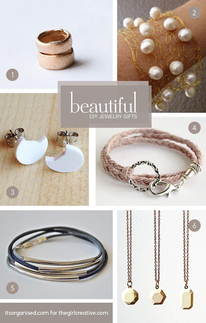 DIY Jewelry Gift Roundup Creative Gift and Girls