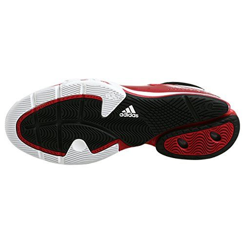 ba05f024848b7 Amazon.com | adidas Men's TS Creator Team Basketball Shoe, Red/White ...