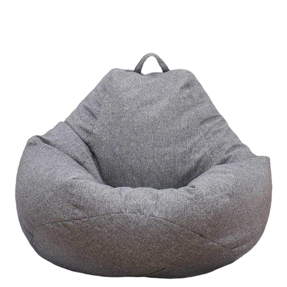 Ysoom Sitzsackhülle Ohne Füllung Sitzsack Innenhülle Riesensitzsack Sitzsack Bezug Hülle Aus Leinen Bean Bag Chair Sofa Bean Bag Chair Covers Bean Bag Chair