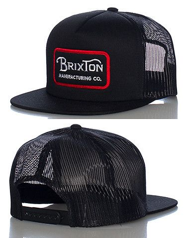 Brixton Mens Route Mesh Cap