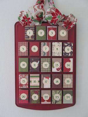 Calendario de adviento con cajas de cerillas Countdowns 3,2,1