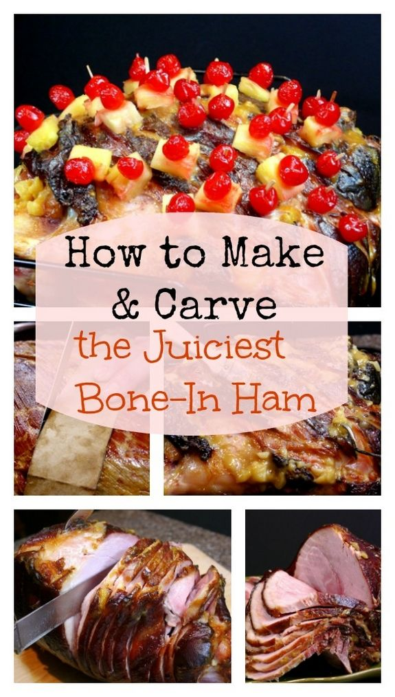 How To Make And Carve The Juciest Whole Bone In Holiday Ham