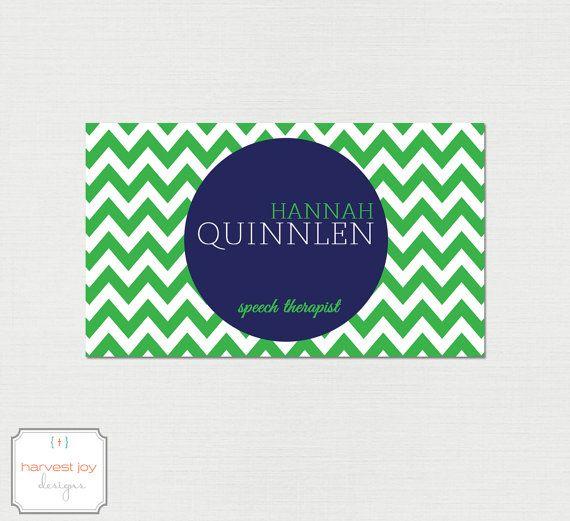 Green and white chevron business card design navy green white by green and white chevron business card design navy green white by harvestjoydesigns colourmoves