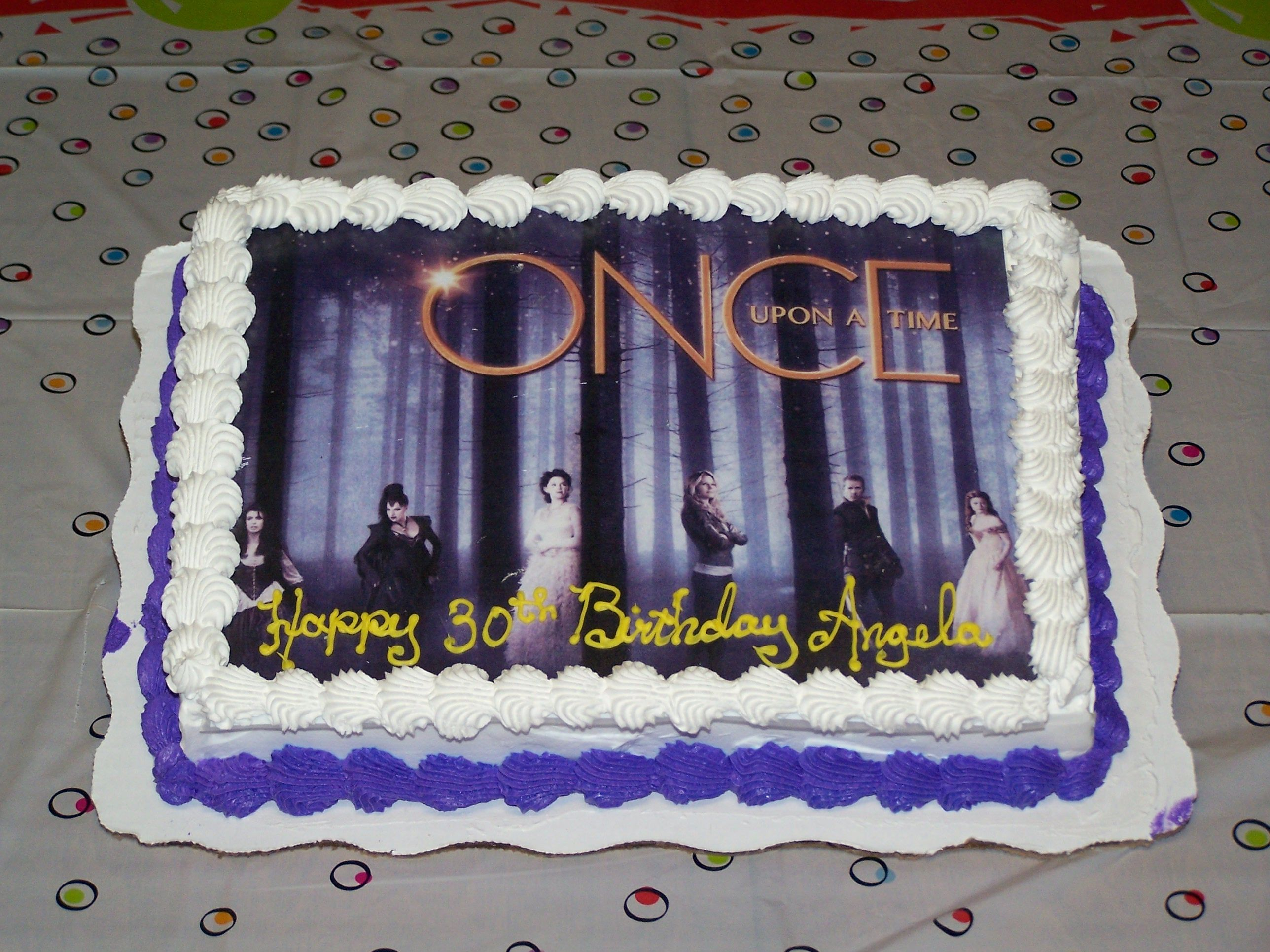 Once Upon A Time Birthday Cake Awesome Once Upon A Time Once