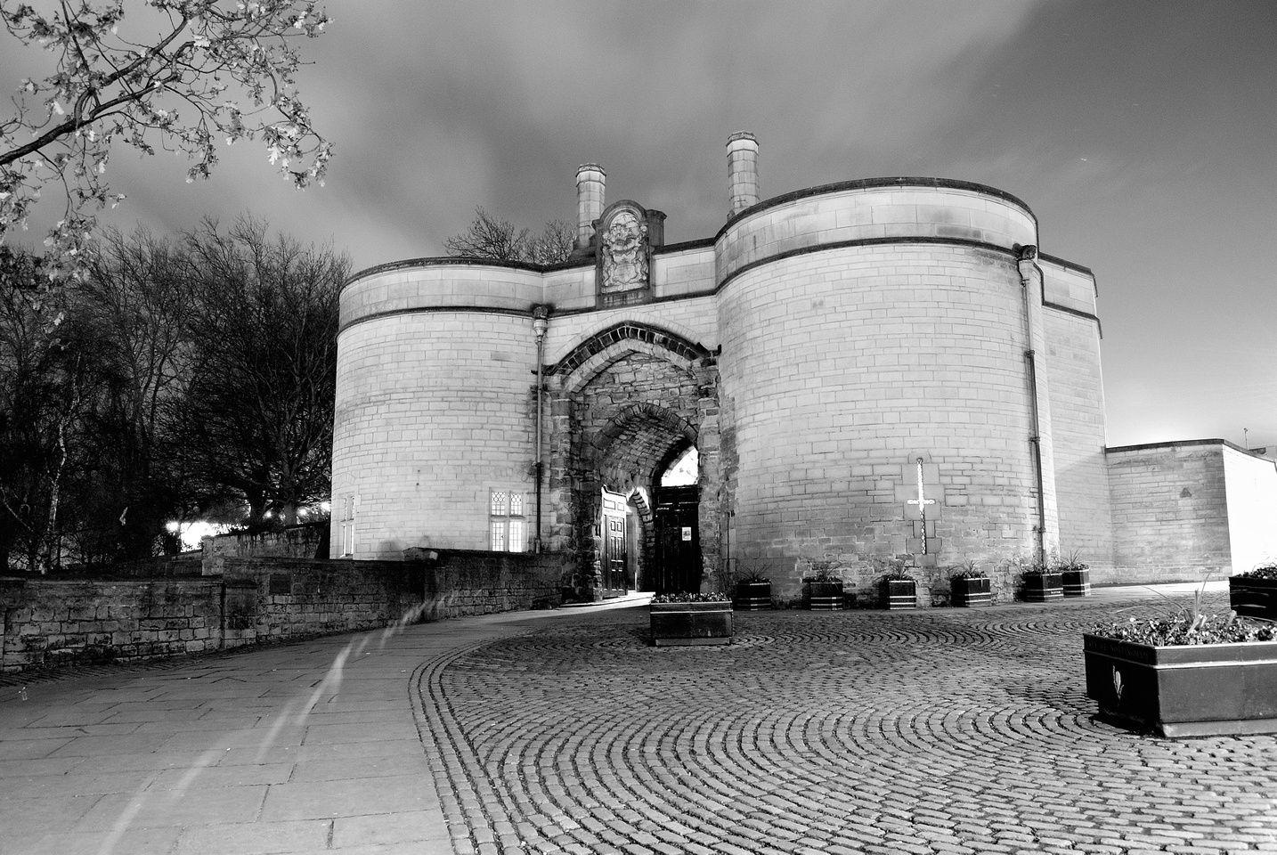 Chris preedy nottingham castle gatehouse nottingham