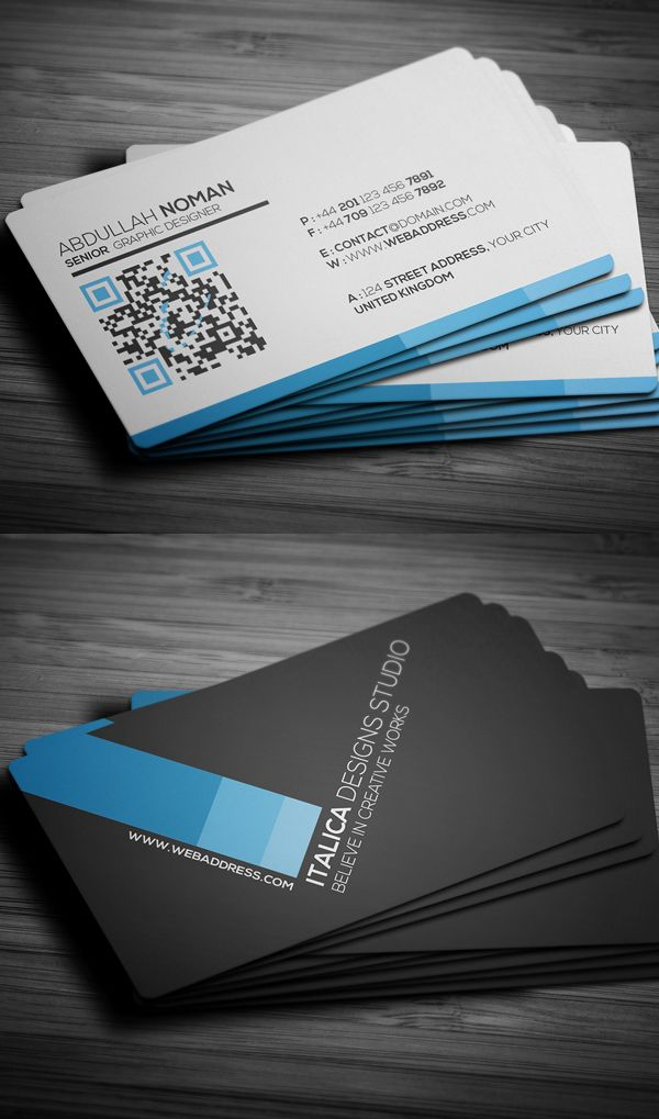 Business Cards Design: 25 Creative Examples - 16 | stationery design ...