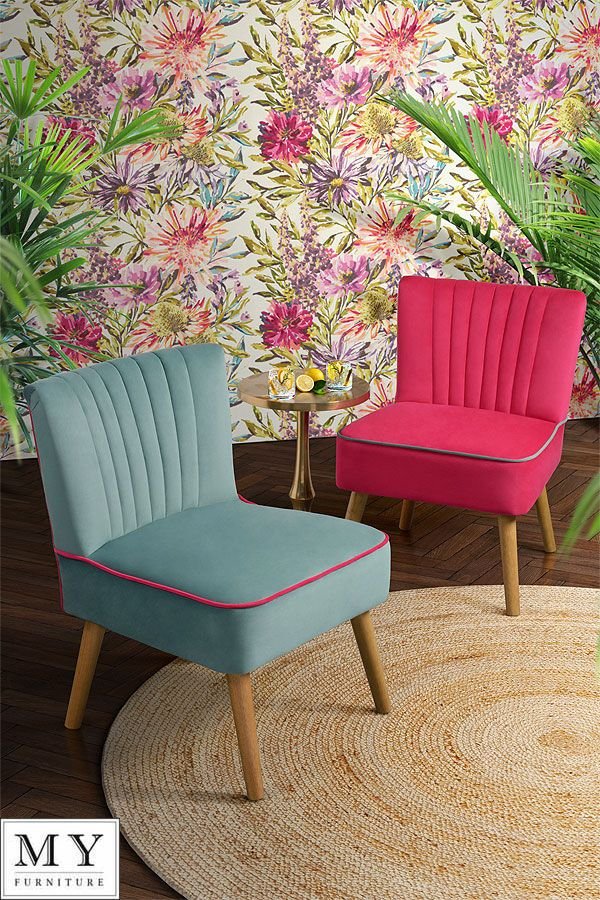Details about Oyster Retro Occasional Upholstered Chair