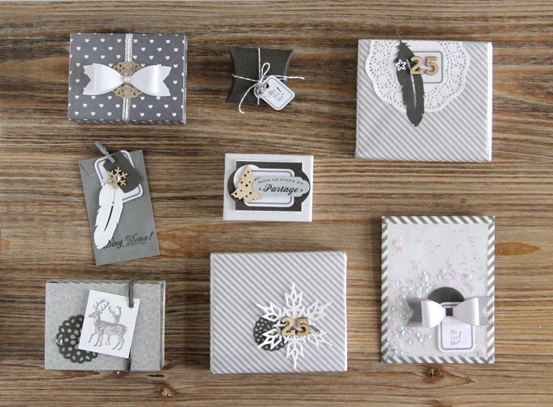 Plein didées pour un paquet cadeau original