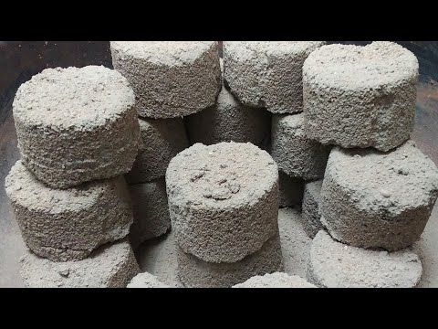 ASMR PURE CONCRETE GRITTY SAND CEMENT BLOCKS DRY+