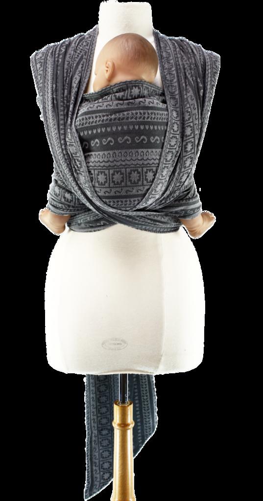 Caribou Baby Ellevill Woven Wrap Zara Ash Norway Pinterest
