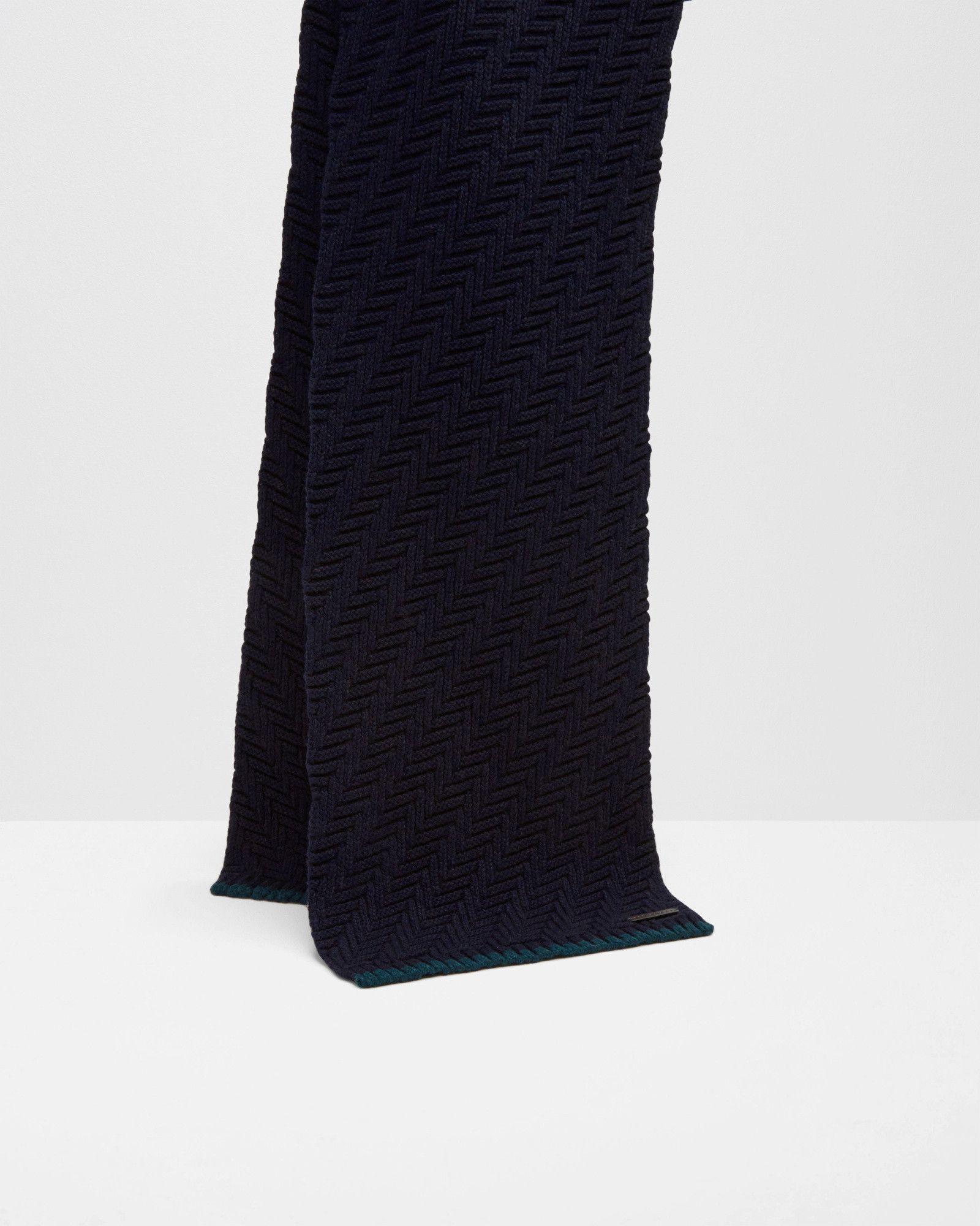 52de81f10 Ted Baker Herringbone stitch scarf