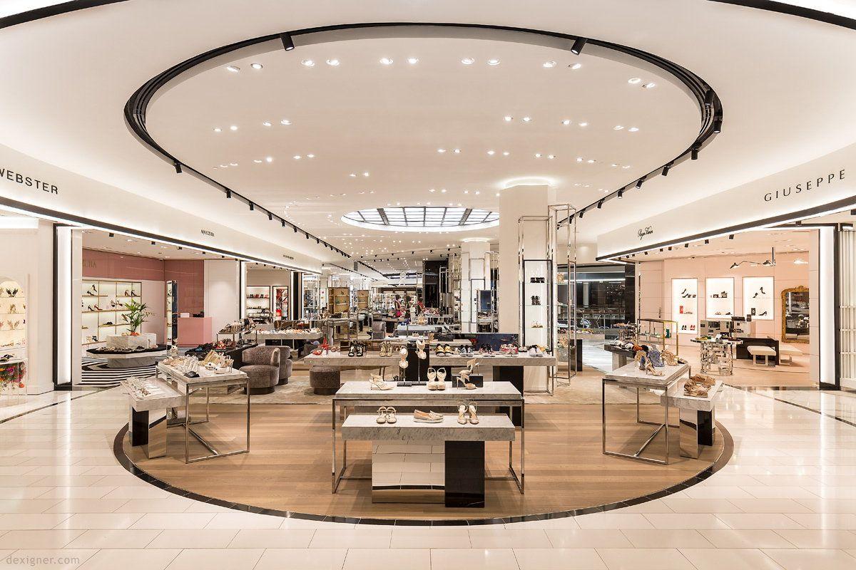 Uxus Designs Bloomingdale S Kuwait Store In 2020 Supermarket Design Design Bloomingdales Store