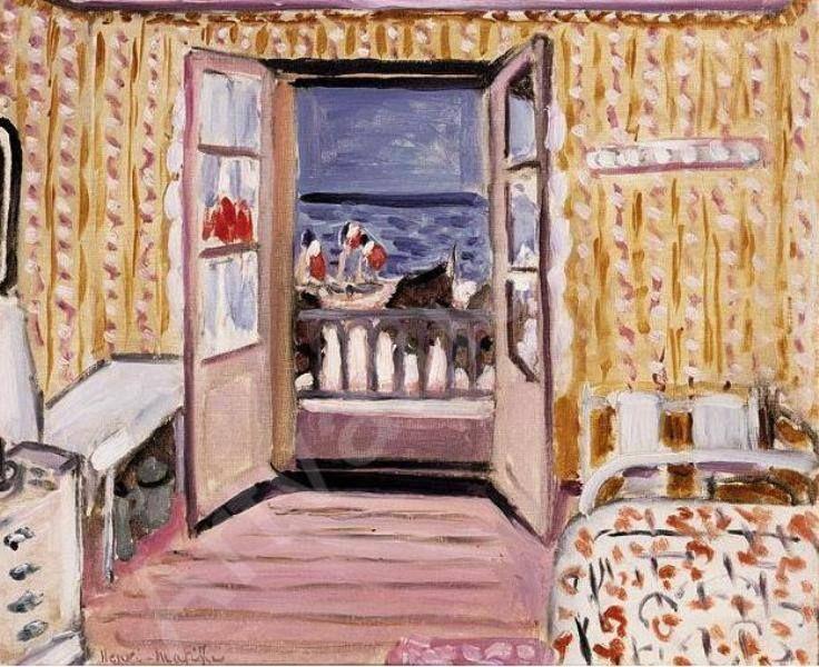 Henri matisse le 14 juillet 1920 art pinterest les for Matisse fenetre ouverte