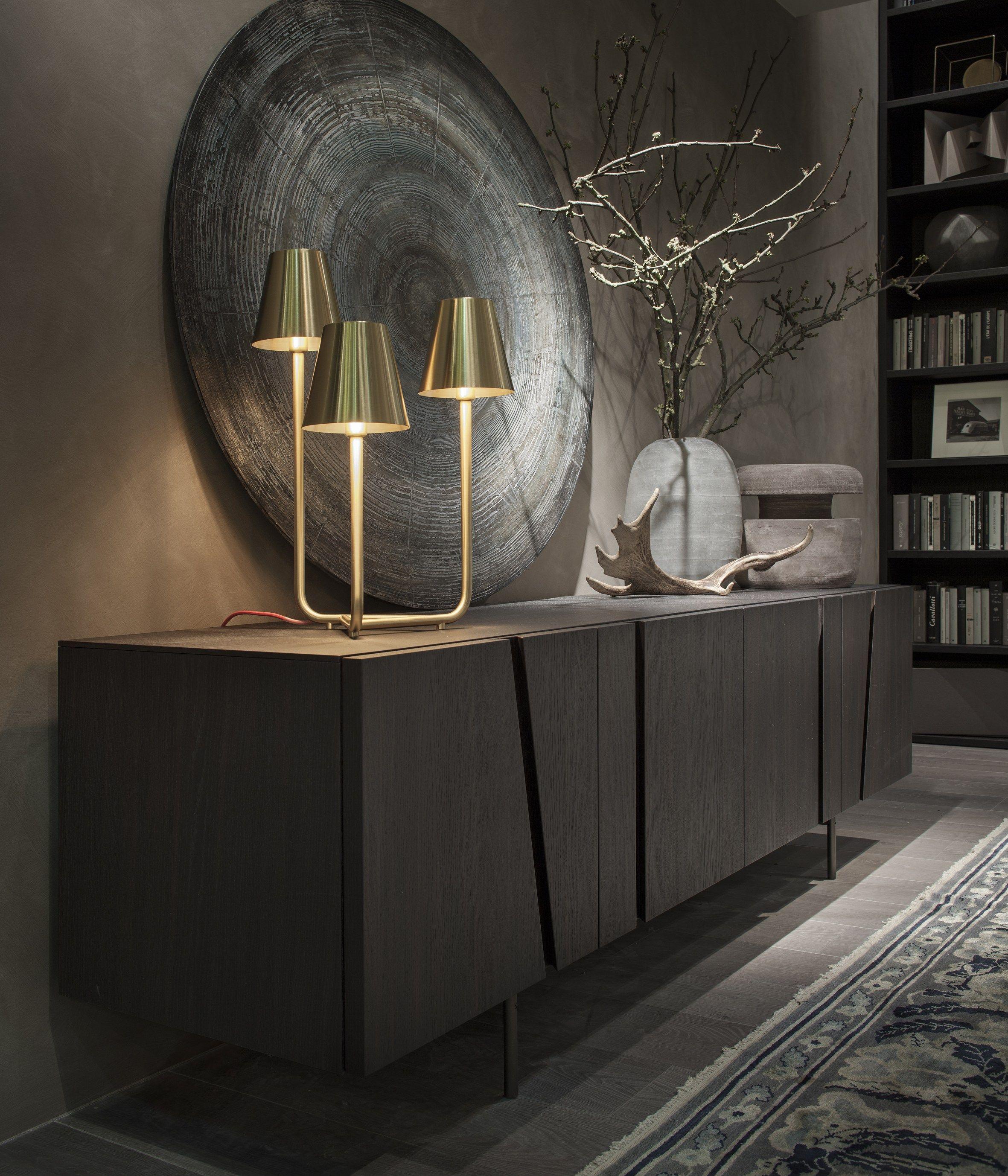 Messing Sideboard Wohndesign Wohnzimmer Ideen Brabbu