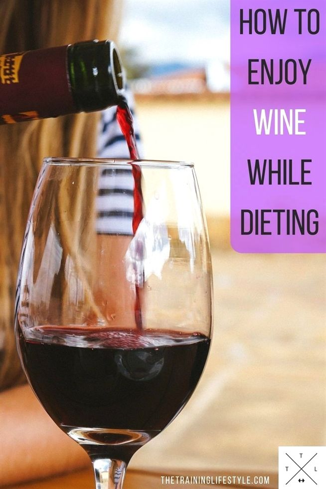 How can i drink wine and lose weight