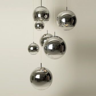 moderne spiegel kugel h ngende lampe tom dixon m9009 foto auf de made in. Black Bedroom Furniture Sets. Home Design Ideas