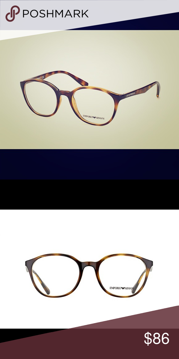 47e3d32e24da Emporio Armani Eyeglasses 3079-5026 MODEL  EA 3079 COLOR  (Dark Havana)  CALIBER  49 BRIDGE  19 This Brand NEW set of frames Comes with New Case