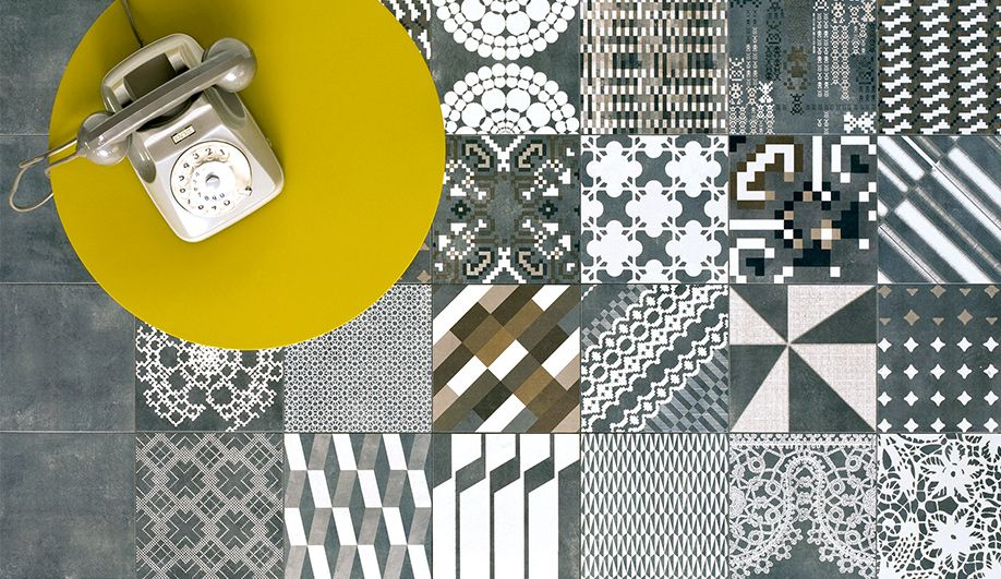Patricia Urquiola's Azulej, a cement tile created for ...