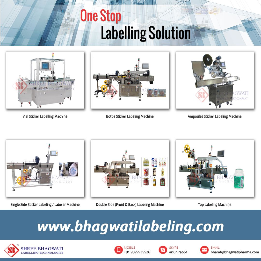 Versatile Types Of Linear Labeller Machines Are Used For