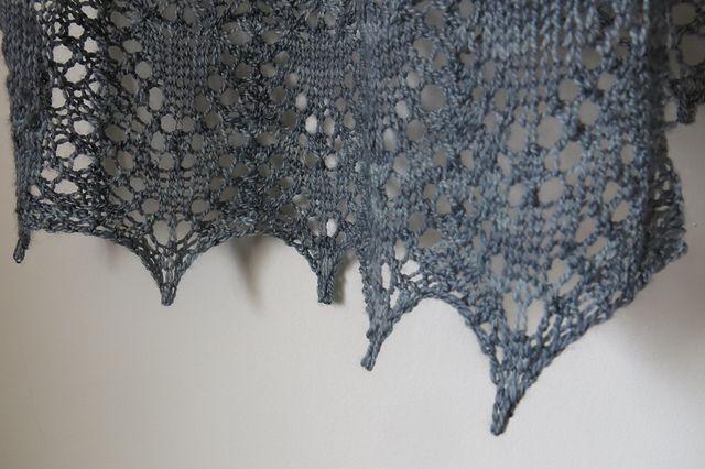 Ravelry: Castle Sands Scarf pattern by Littletheorem