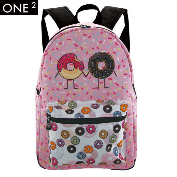 Donut design very cute, would you like it? | Printing backpack ...