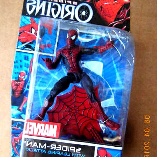 The amazing spiderman figurine Web Battlers Hasbro 2012 Nouveau Doc Ock