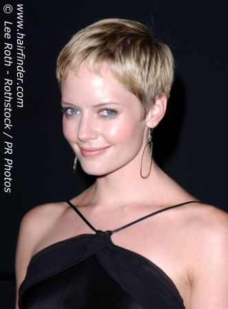 Short Pixie Hair Source Hairfinder Pixie Cut Pinterest