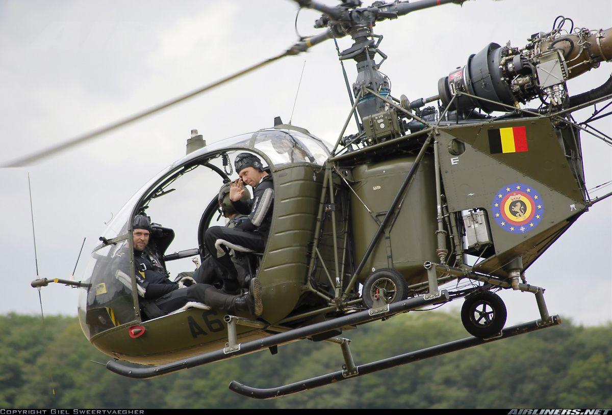 Sud SA-318C Alouette II aircraft picture   Helicópteros En Todos Los ...