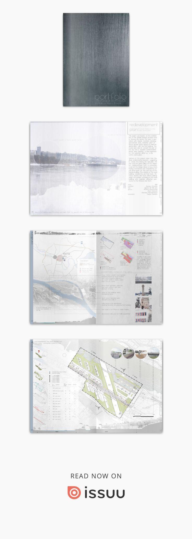 2014 Undergraduate Architectural Portfolio by Kristina