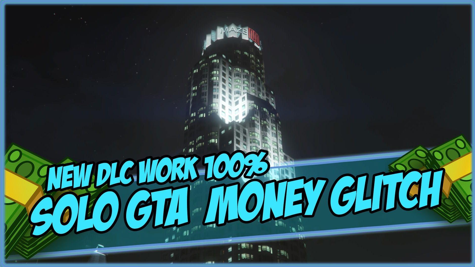 "GTA 5 Money Glitch 1.34 - *FAST* ONLINE MONEY GLITCH Patch 1.34/1.27 ""SOLO"" - YouTube"