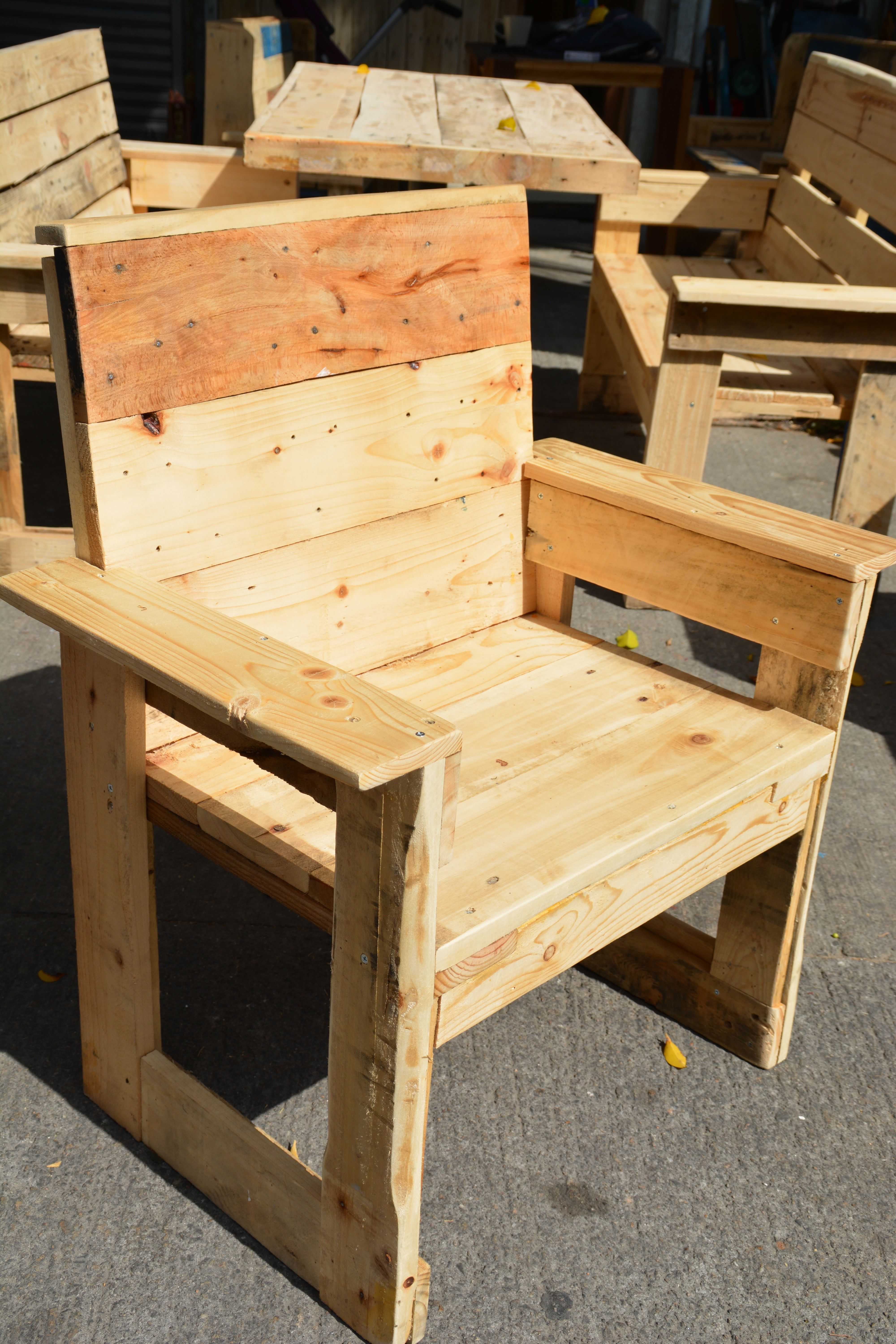 Pin By Wood Art Studio On Outdoor Pallet Wood Furniture