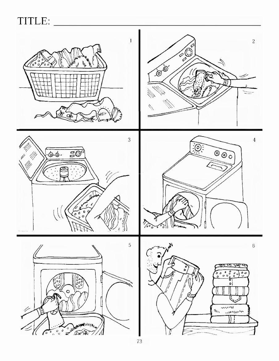 DAF Bildbeschreibung: Wäsche waschen | Tutoring German | Pinterest ...