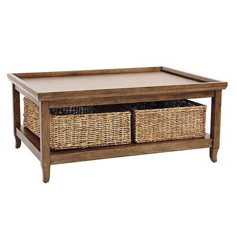 Morgan Coffee Table Coffee Table With Baskets Coffee Table