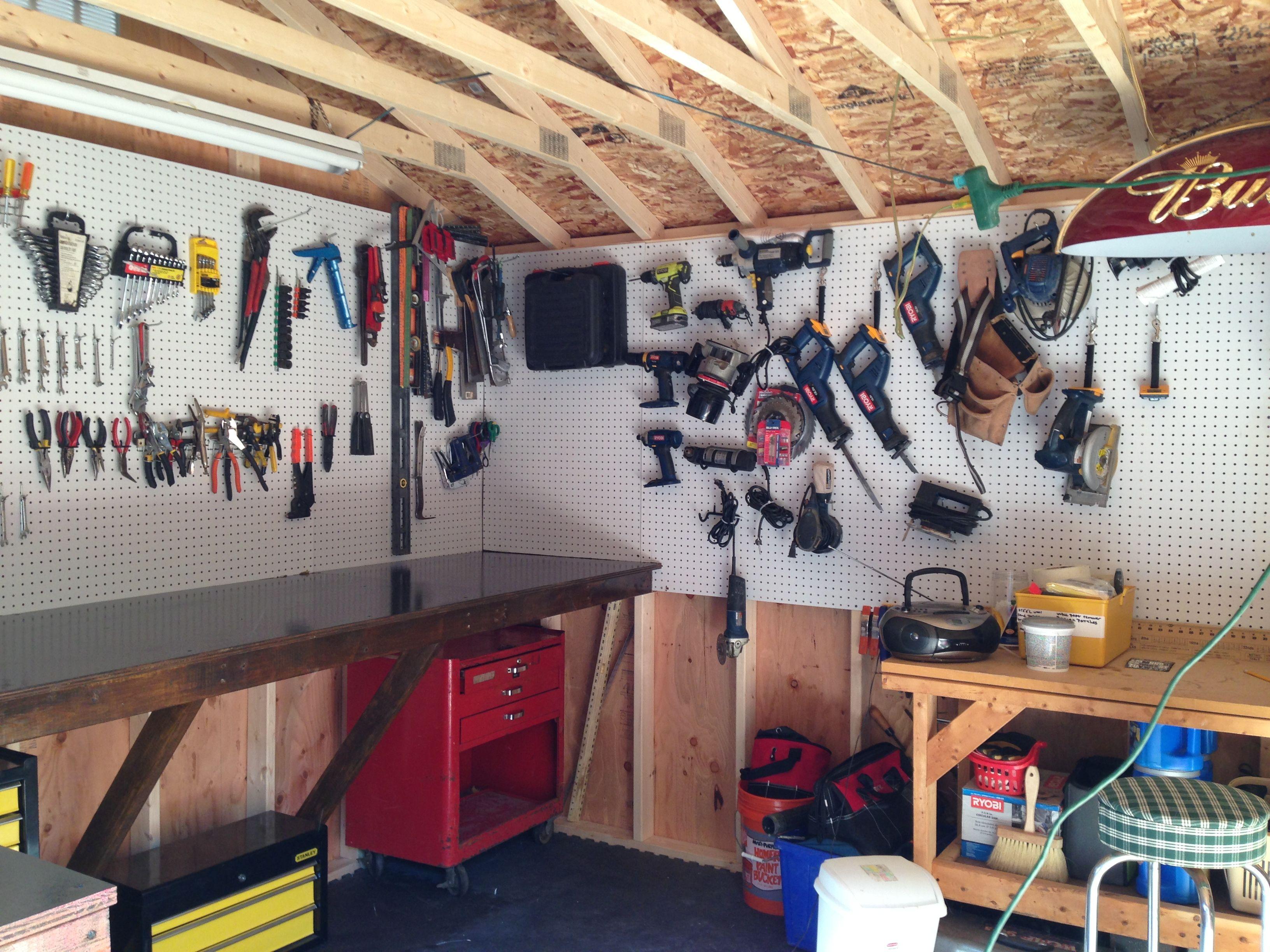 Домашняя мастерская сарай фото
