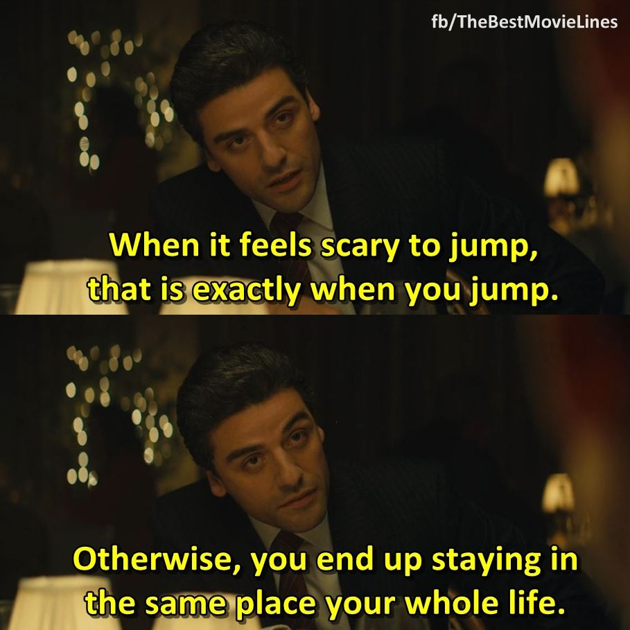 Most Quoted Movie Lines Ever: - A Most Violent Year (2014) Oscar Isaac Jessica Chastain