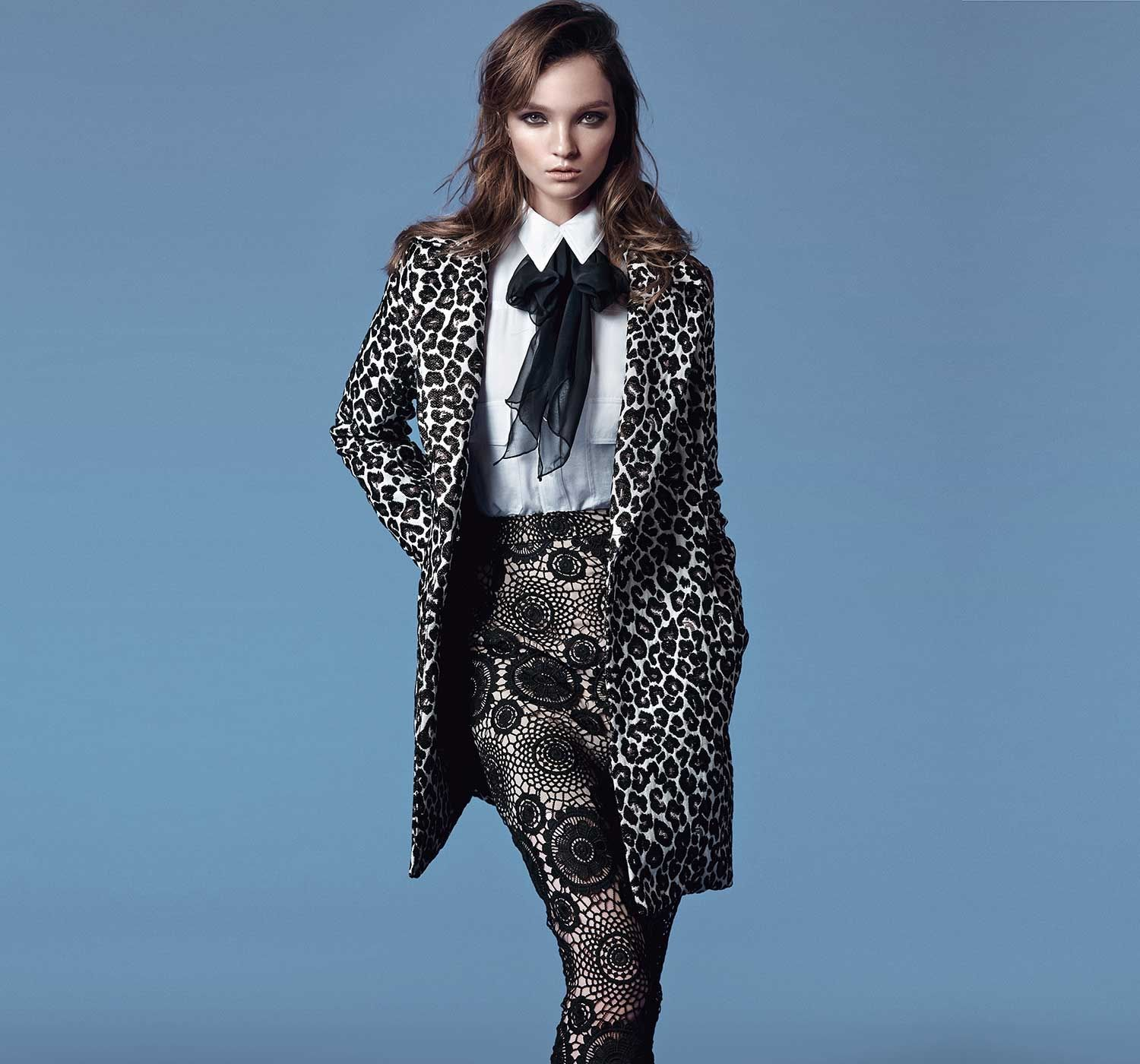 Holiday Dressing   The Glamourai   Print Mixing   Pinterest ...