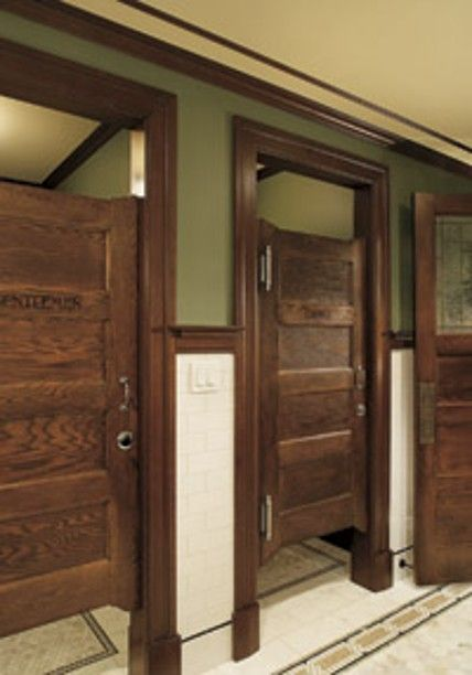 Vintage bathroom stalls entertaining ways design new for Bathroom design restaurant